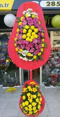 Çift katlı düğün nikah açılış çiçek modeli  Zonguldak online çiçek gönderme sipariş