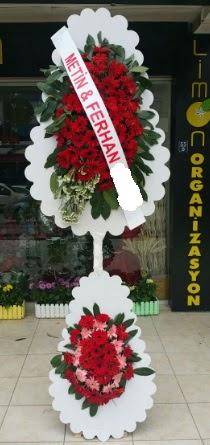 Çift katlı düğün nikah çiçeği modeli  Zonguldak çiçek siparişi sitesi