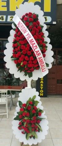 Çift katlı düğün nikah çiçeği modeli  Zonguldak hediye çiçek yolla