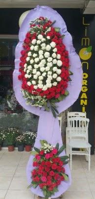 Çift katlı işyeri açılış çiçek modeli  Zonguldak çiçekçi telefonları