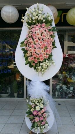Çift katlı özel şahane sepet çiçeği  Zonguldak ucuz çiçek gönder