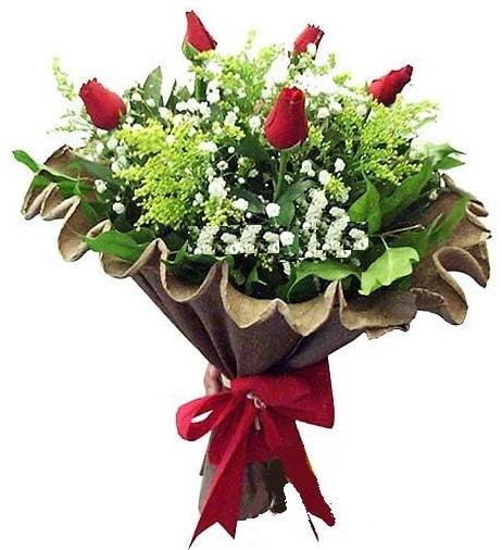 5 adet gülden buket  Zonguldak çiçek gönderme sitemiz güvenlidir
