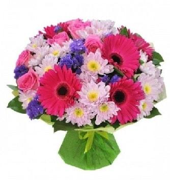 Karışık mevsim buketi mevsimsel buket  Zonguldak çiçek satışı