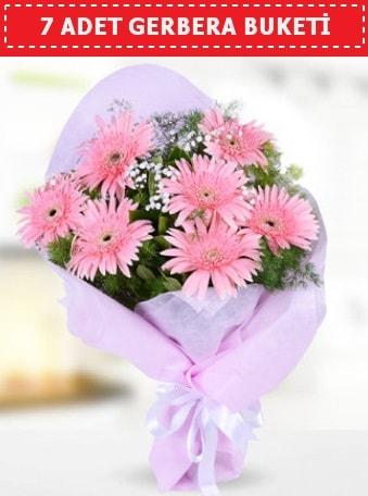 Pembe Gerbera Buketi  Zonguldak çiçek , çiçekçi , çiçekçilik